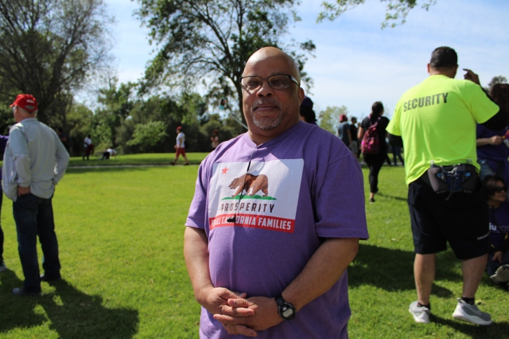 Mac, A Security Guard and Organizer with SEIU Local 521 and Stand For Silicon Valley Security